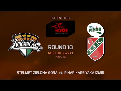 Highlights: RS Round 10, Stelmet Zielona Gora 81-83 Pinar Karsiyaka Izmir