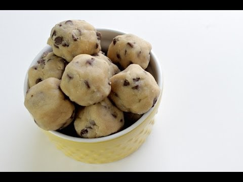 Video How To Make Cookie Dough Bites | No Bake Recipe | Simply Bakings