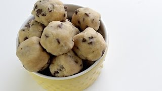 how to make chocolate chip cookie dough from scratch