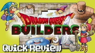 Dragon Quest Builders Review [PS4] - Based on the Demo | The Cuter Minecraft Clone | Also on PS Vita