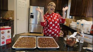 COOKING WITH THE SANDS FAMILY (HOLIDAY CHRISTMAS CRACK)