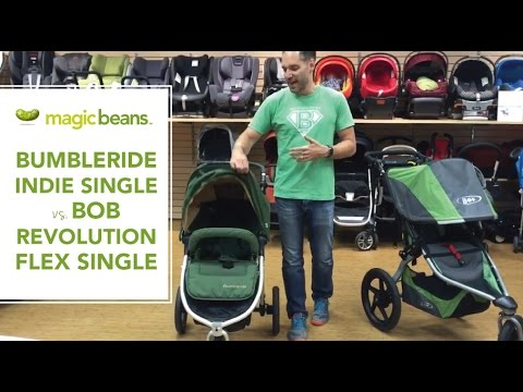 BOB Revolution Flex vs. 2016 Bumbleride Indie Single Stroller | Comparison | Reviews | Prices