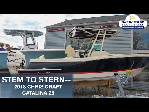 Chris-Craft Catalina 26 video