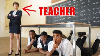 We Played Hide & Seek in High School! Beta Squad went back to school and Played Hide and Seek in School From Teacher! Leave a comment below if you want to see more hide & seek videos!  Subscribe to everyone!  Aj: http://www.youtube.com/ajshabeel Sharky: http://www.youtube.com/afcsharky Chunkz: http://www.youtube.com/chunkzeast  Niko: http://www.youtube.com/omilana7 Kenny: http://www.youtube.com/mrkennyoj  Follow us on Social Media to stay connected! Twitter ► https://twitter.com/BetaSquad5 Instagram ►  https://www.instagram.com/betasquad5