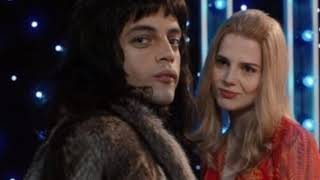 Queen Love of my life. Rami Malek & Lucy Boynton