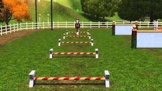 Sims 3 Pets Horse Jumping