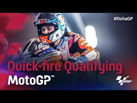 MotoGP 2021 第2戦ドーハGP 予選のハイライト動画