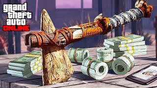 Bounty Hunter Missions & Red Dead Redemption 2 Stone Hatchet Location! (GTA 5 Online)