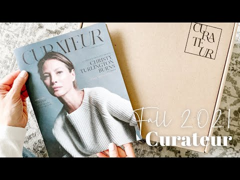 Curateur Unboxing Fall 2021
