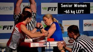 World Arm Wrestling Championship 2018 (Senior Women -65kg Left Hand Qualification)