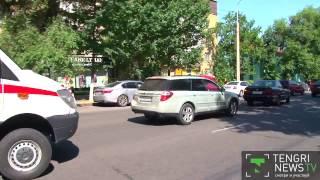 Как водители Алматы реагируют на сирену скорой помощи