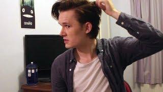 Matt Smith / 11th Doctor Hair Tutorial