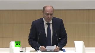 Обсуждение поправки к законодательству о СМИ — иностранных агентах в Совете Федерации