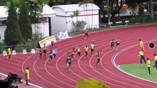 4x100m A Boys Final - 2014 National Schools T&F C