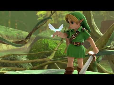 Super Smash Bros. Ultimate - Bandes annonces - Link Enfant