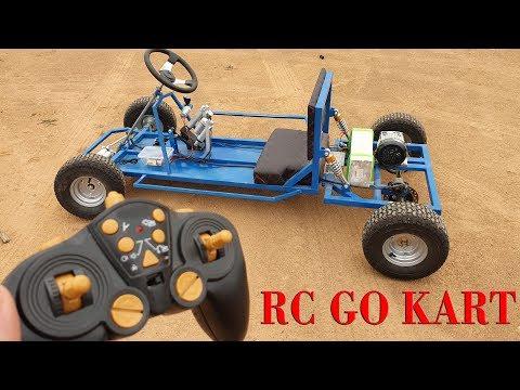 How to make a Big RC Go Kart - Big F1 RC Car