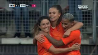 Países Bajos 7:0 Chile