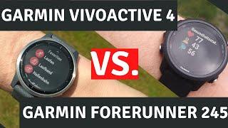 Garmin Vivoactive 4 vs. Garmin Forerunner 245: Welche Sportuhr ist besser?