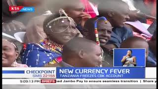Tanzania suspends Kenya currency conversion, move aimed to curb illicit flows