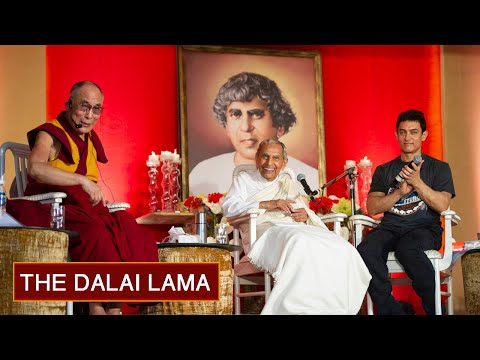 Interactive Session with H.H. the Dalai Lama & Rev. Dada J.P. Vaswani, Hosted by Aamir Khan