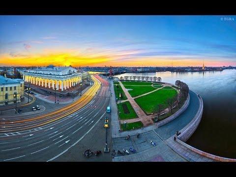 Санкт-Петербург, Исторические путеществия - Васильевский остров, любимое детище Петра Великого