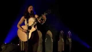 "Ani diFranco performs ""Marrow"" at the Union Chapel on 22 September 2014"
