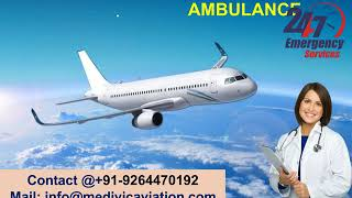 Low-Fare Air Ambulance Service in Bokaro and Jamshedpur by Medivic Aviation