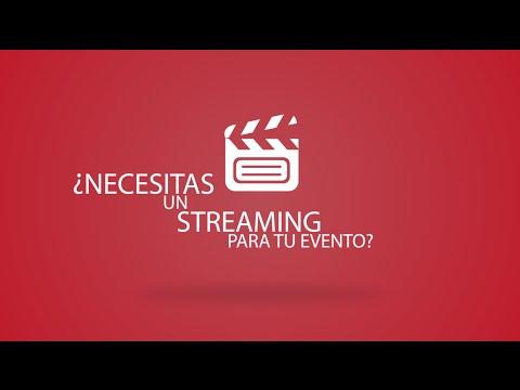 ¿Necesitas un streaming para tu evento?
