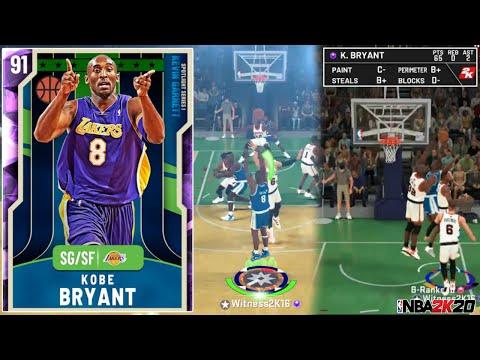AMETHYST KOBE BRYANT 65PTS GAMEPLAY! BETTER THAN A GALAXY OPAL? (NBA 2K20 MYTEAM)