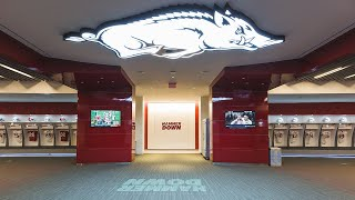 Advent:  University Of Arkansas Reynolds Razorback Stadium