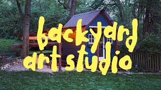 Backyard Art Studio  |  My Art Story