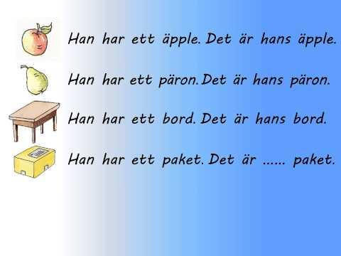Svenska Pronomen