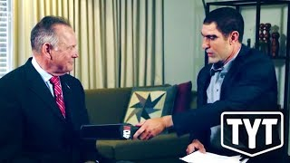 Sacha Baron Cohen Gives Roy Moore A Pedo Test