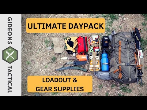 Ultimate Daypack Loadout & Gear Supplies