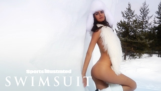 Bo Krsmanovic Strips Down & Heats Up Finland In Fur | Intimates | Sports Illustrated Swimsuit