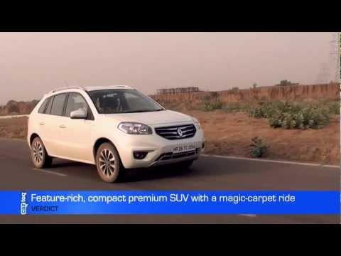 Renault Koleos 4x4 Video Review - CarToq.com Community Experts