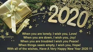 Happy NewYear 2020 Quotes, Happy NewYear 2020 Whises, Happy NewYear 2020 Story Wa IG WhatsApp Videos
