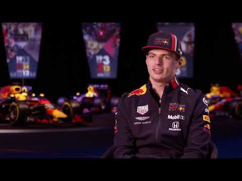 Q&A with Max Verstappen at 2019 Red Bull launch