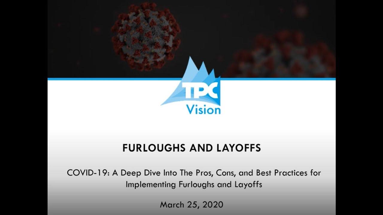 Layoffs and Furloughs