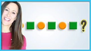 Patterns and Colors Children's Song | Green Orange Shapes Patterns | Patty Shukla
