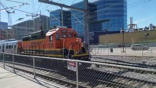 BNSF shoves RTDC EMU