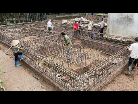 Techniques Construction Reinforced Concrete Foundations Firmly To Your House