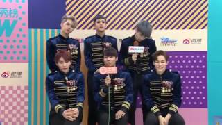 161108 VIXX THE SHOW Warm Up Time [Chi-Eng]