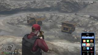 gta 5 online dump truck spawn location