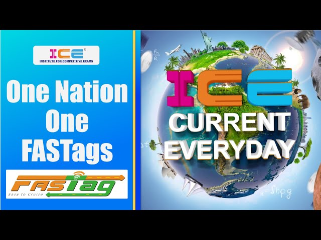 013 # ICE CURRENT EVERYDAY # ONE NATION ONE FASTAGS