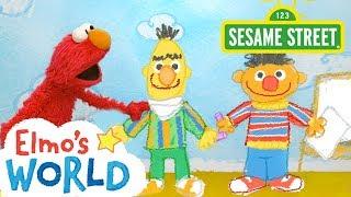Sesame Street: Elmo's World: Sharing   FULL Segment