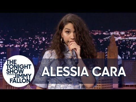 """Alessia Cara Sings """"Bad Guy"""" w/ 7 Different Impressions"""