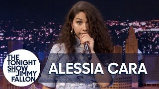"Alessia Cara Sings ""Bad Guy"" W 7 Different Impressions"