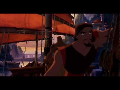 Sinbad: Legend of the Seven Seas - Marina and Sinbad's kiss
