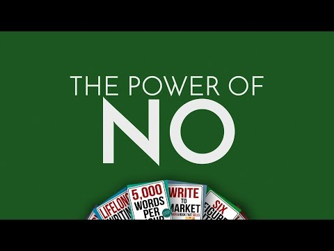 The Power of NO \u2013 Chris Fox Writes